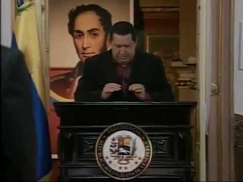 Chavez llora al despedirse