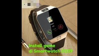 cara Install game di Smartwatch DZ09 bahasa indonesia