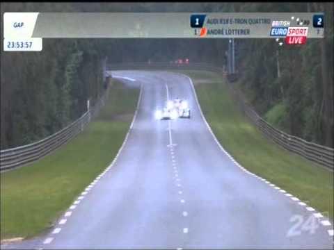Le Mans 24 Hours 2013 Start & Lead Battle Audi vs Toyota видео