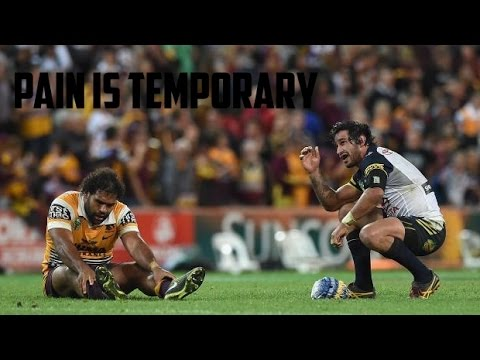 Rugby League Motivation | Pain is Temporary