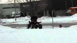 4. Kymco Maxxer 450i 2011 Classique Moto Sport