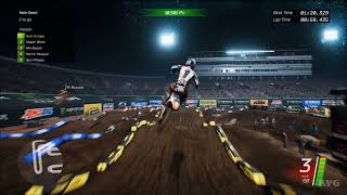 Monster Energy Supercross Gameplay (PC HD) [1080p60FPS]
