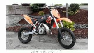 2. 2009 KTM SX 65 - Features