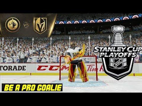 NHL 18 [CZ] Be A Pro Goalie VEGAS GOLDEN KNIGHTS - Finále konference začalo