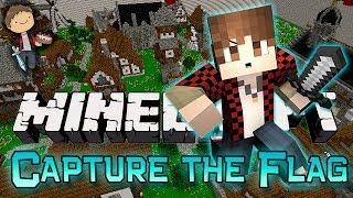 Minecraft: Capture the Flag w/Mitch&Jerome! (Nexus Mini-Game Mod!)