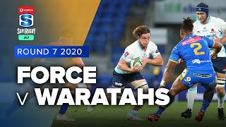 Western Force v Waratahs Rd.7 2020 Super rugby AU video highlights