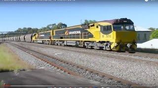 East Maitland Australia  City new picture : Australian Trains: East Maitland, 10 March 2012