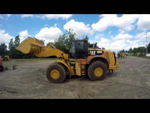 CATERPILLAR PÁ-CARREGADEIRAS DE RODAS/ PORTA-FERRAMENTAS INTEGRADO 980K equipment video tu2mJNADiQE