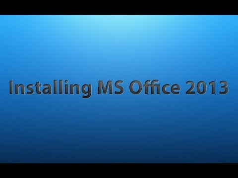 comment installer microsoft office