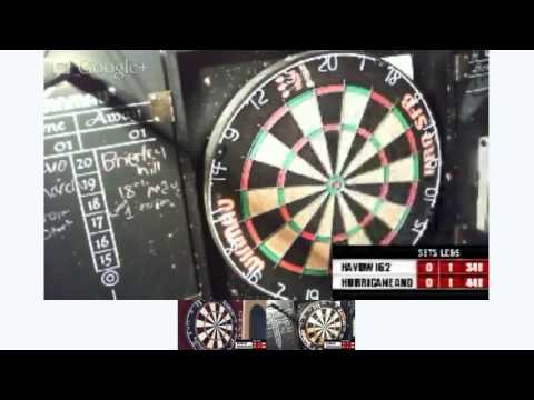 webcam darts association haydw162  v Hurricane Andrew