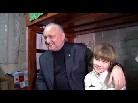 Președintele țării a vizitat familia Pascari din satul Suvorovca