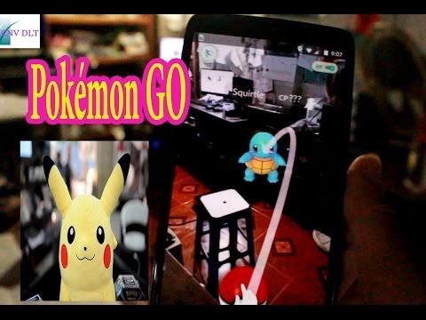 Chơi Pokémon GO dành cho người mới có phiên bản tiếng việt