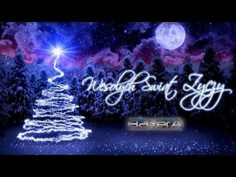 Tekst piosenki Bayera - W ten świąteczny czas po polsku