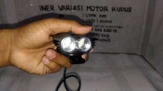 Video Lampu Cree OWL 3 MODE burung hantu 20 watt SOROT PUTIH terang TEMBAK INER VARIASI MOTOR IVM KUDUS MP3, 3GP, MP4, WEBM, AVI, FLV September 2018