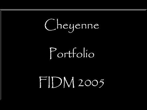 FIDM Grad 2005 Fashion Design Portfolio - Virtual (видео)