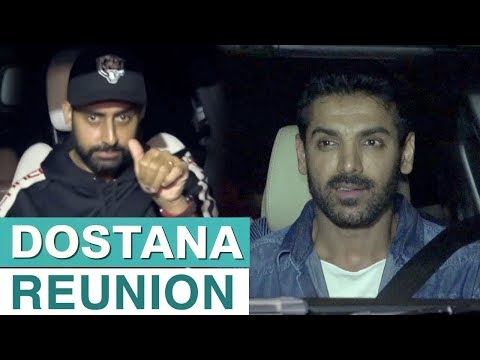 Dostana Reunion At Parmanu Screening | Abhishek Ba