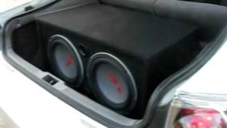 Alpine Type-R 1241D (old school) in my coupe goes to blow on :P