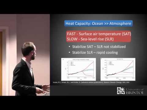 Erforschen der Temperatur und Meeresspiegel Antwort von Geo-Engineering