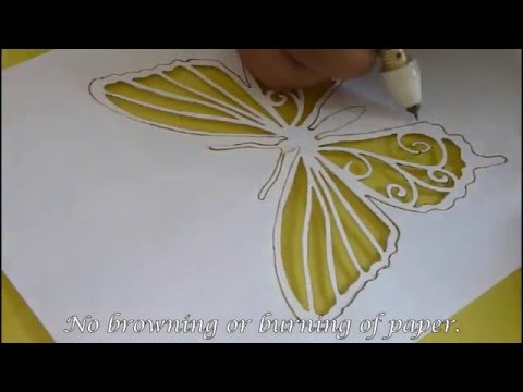 Cutart Pro kit Paper and OHP Stencil Cutter demo