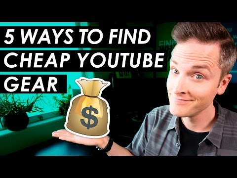 Cheap YouTube Equipment? — 5 Budget YouTube Setup Tips