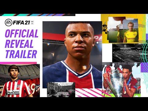 FIFA 21 : Bande-annonce officielle jaquette FIFA 21 | Gagner ensemble avec Kylian Mbappé