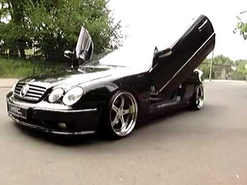 Mercedes Benz Lambo Doors W215 CL600 with MEC Design Wheels Dropped