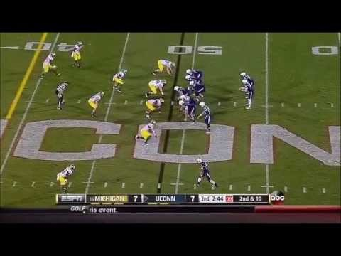 Frank Clark Game Highlights vs Connecticut 2013 video.