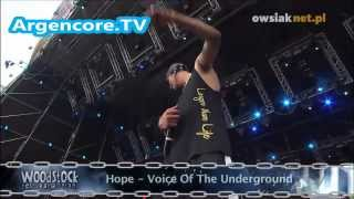 Hope - Voice of the Underground (woodstock 2012)