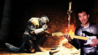 Because nobody else would be mad enough to play Dark Souls using a Rockband controller. For more awesome content, check...