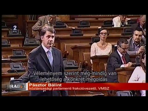 Híradó - A VMSZ nem játszaná idegen kézre Szerbia földjeit-cover