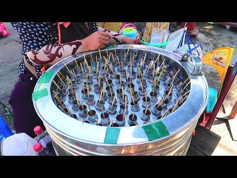Different Ice Creams Of Thailand - Thai Street Food Desserts - Ice Cream Rolls