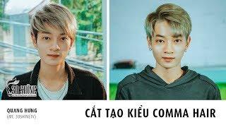 30Shine TV Đặc Biệt | MC Quang Hưng cắt tạo kiểu Comma Hair | Kiểu Tóc Hot Trend 2018
