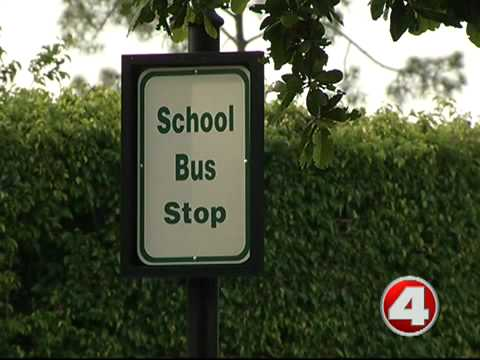 Lee County parents say new school bus location is not safe