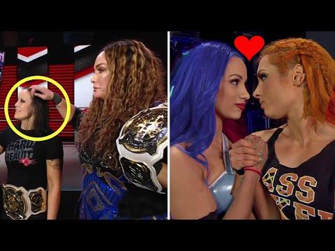 5 Unexpected WWE Moments 2021 - Becky Lynch & Sasha Banks, John Cena & Vince McMahon