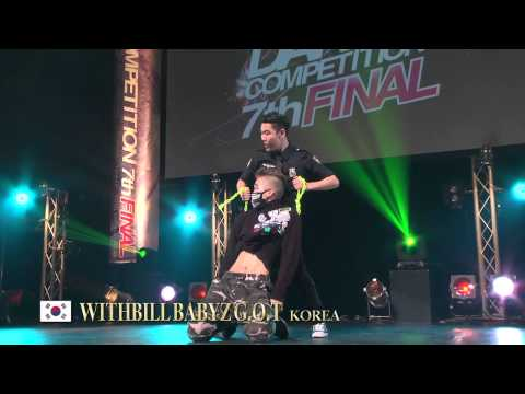 【GDC 7th】GATSBY DANCE COMPETITION 2014-2015:ASIA GRANDFINAL/WITHBILL BABYZ G.O.T【KOREA】