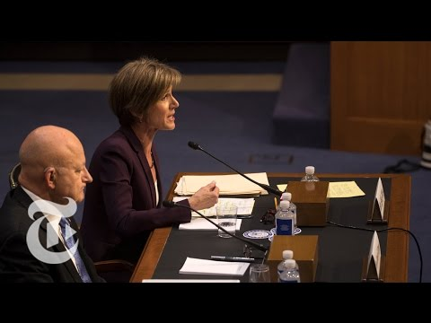 Sally Yates Testifies About Michael Flynn, Russia and President Trump (Full)   The New York TImes