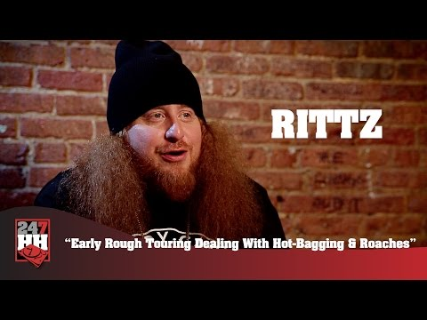 Rittz - Early Rough Touring Dealing With Hot Bagging & Roaches (247HH Wild Tour Stories)