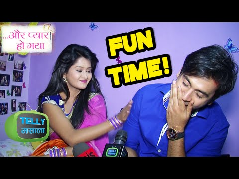 Video Raj Avni Fun Times In Aur Pyaar Ho Gaya | Behind The Scenes | Zee Tv download in MP3, 3GP, MP4, WEBM, AVI, FLV January 2017
