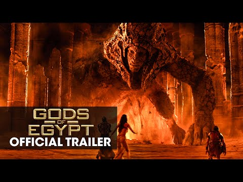 Gods of Egypt Official Trailer 2 Starring Gerard