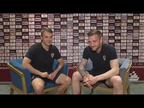 Hrvatska U-21 2U1: Robert Murić i Josip Posavec