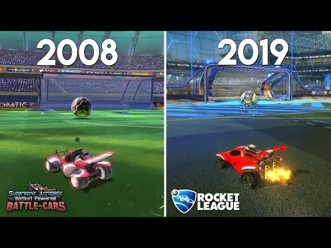 Evolution of Rocket League (2008-2019)