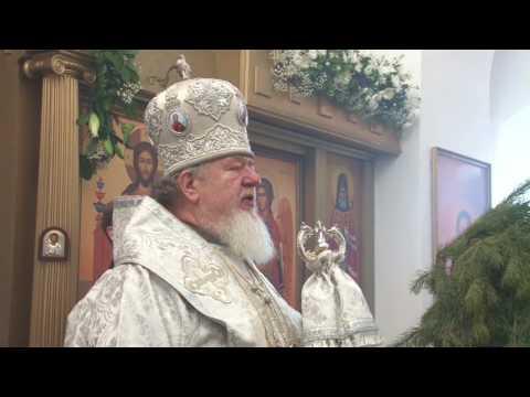 Митрополит Сергий совершил Великое освящение воды в Богоявленском храме и рассказал о значении Крещения (видео)