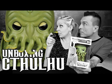 H.P. Lovecraft CTHULHU Funko POP! Vinyl Figure Unboxing Video Review