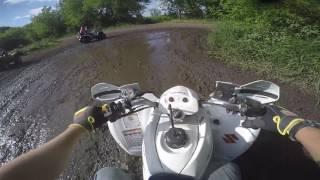10. Cheese County Trail + New ATV - Polaris Sportsman | LTZ 250 | GoPro 4 Silver