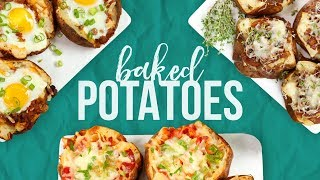 3 Baked Potato Recipes! by The Domestic Geek