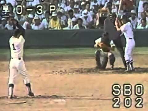【高校時一番速かった試合】 1984年 桑田真澄 【対 享栄戦】