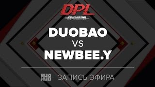 DuoBao vs NewBee.Y, DPL Class A, game 1 [Maelstorm, Smile]
