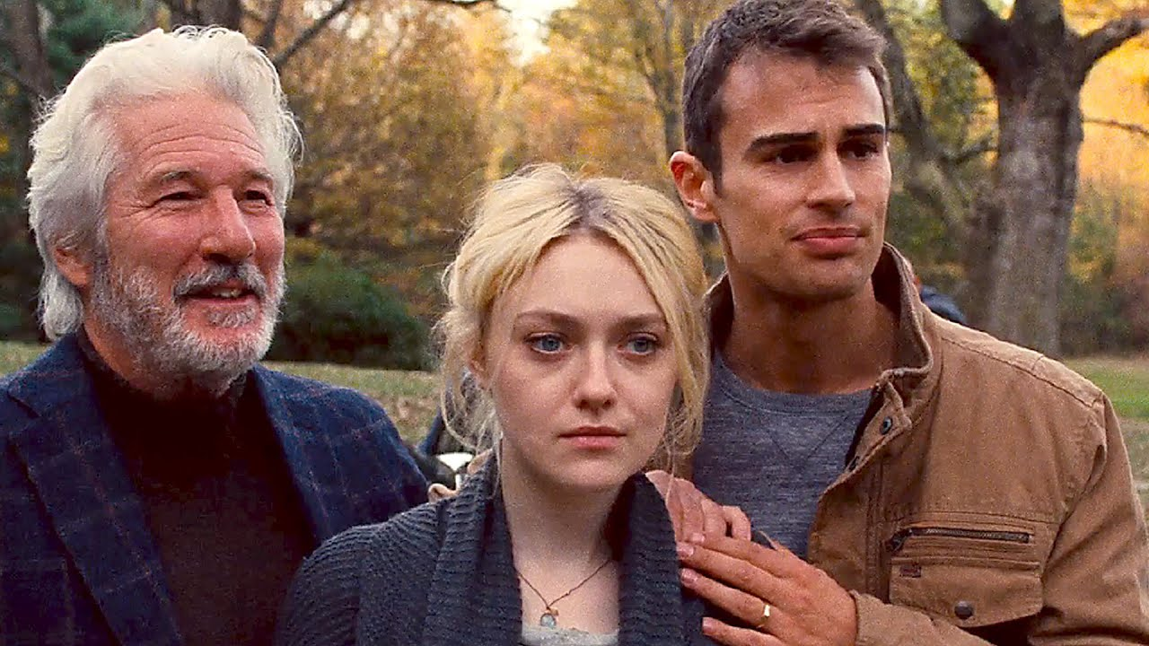 Watch: Richard Gere is intrusive as 'The Benefactor' with Dakota Fanning & Theo James