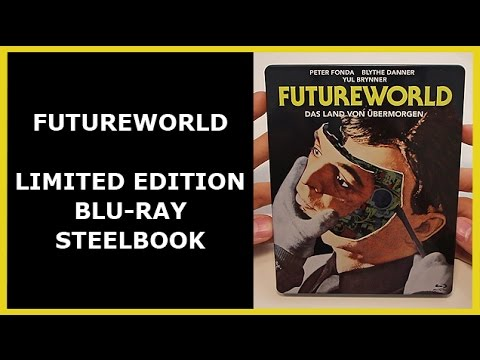 FUTUREWORLD - LIMITED BLU-RAY STEELBOOK UNBOXING - SATURN EXCLUSIVE