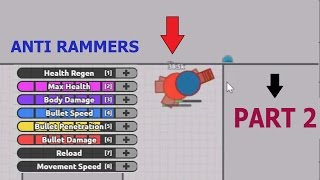 Diep.io ANTI RAMMERS BUILD PART 2